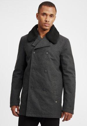 WOLLMANTEL PINTO - Short coat - dark grey melange