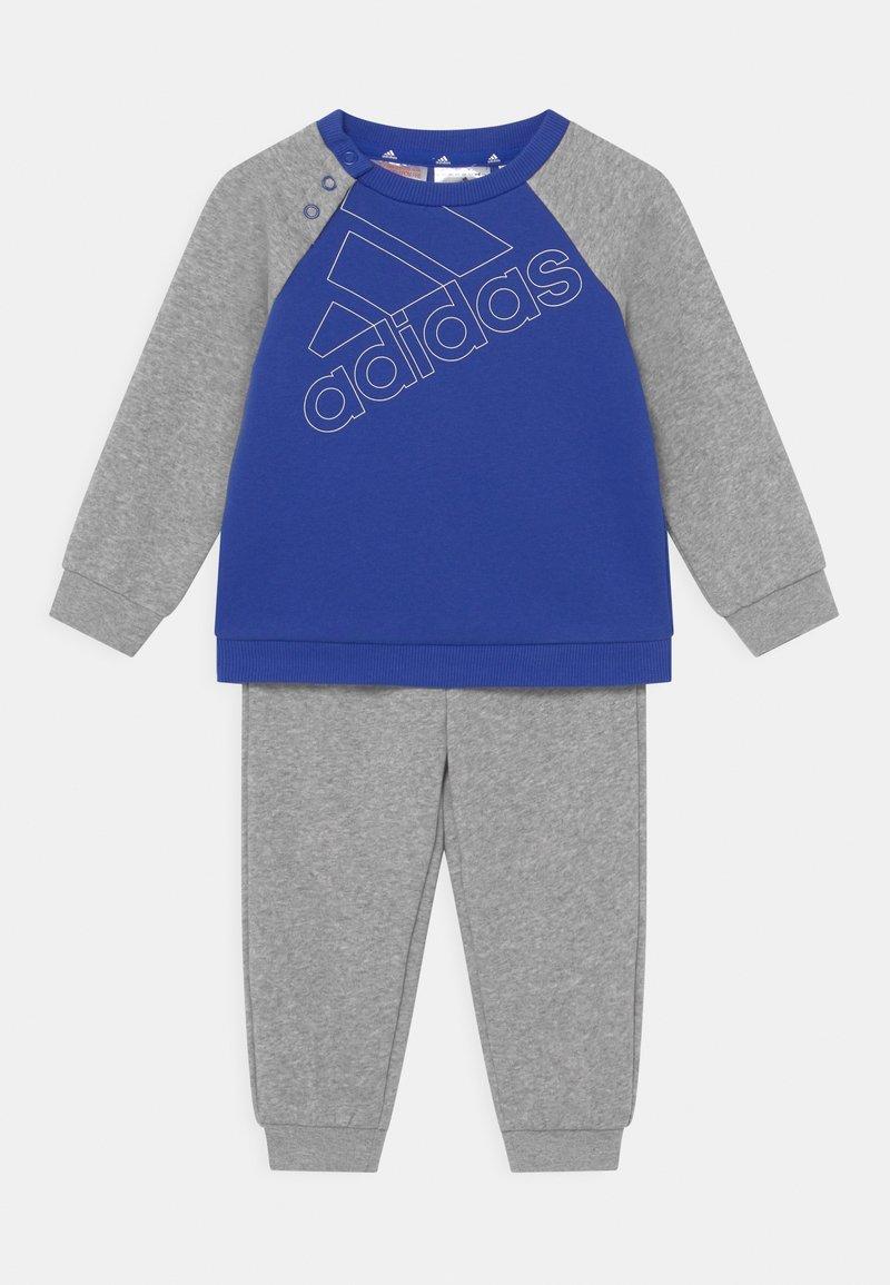 adidas Performance - SET UNISEX - Tracksuit - bold blue/white/medium grey heather