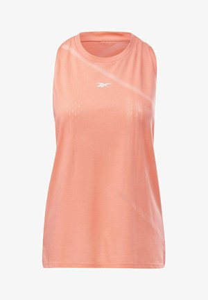 BURNOUT TANK TOP - Top - salmon