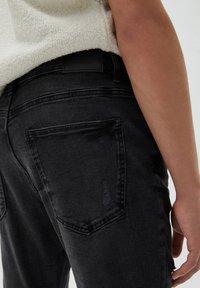 PULL&BEAR - Jeans slim fit - mottled black - 4