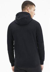 Puma - EVOSTRIPE HOODIE - veste en sweat zippée - black - 2