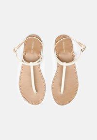 Even&Odd - T-bar sandals - white - 4