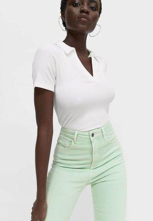 Jeans Skinny - light green