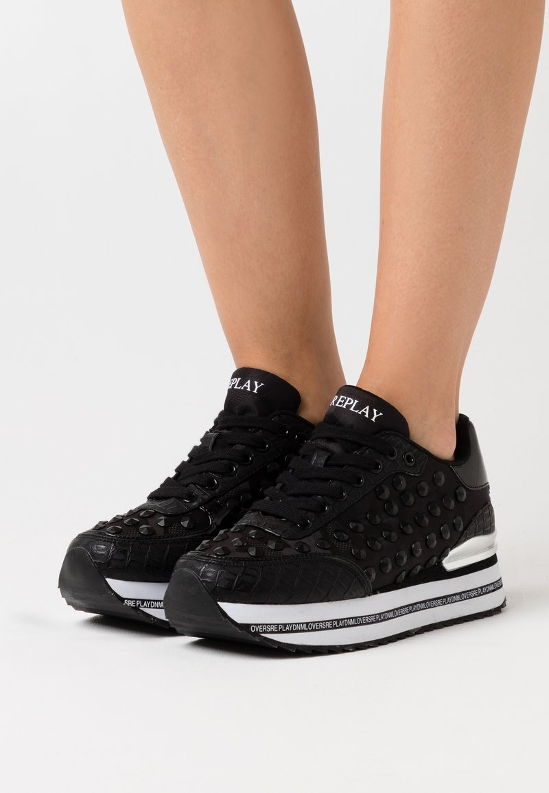 Replay - NEW PENNY NARCISSUS - Sneakers basse - black