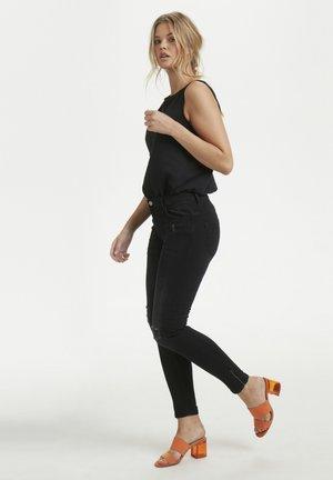 40 THE CELINAZIP TORN CUSTOM - Jeans Skinny - black wash