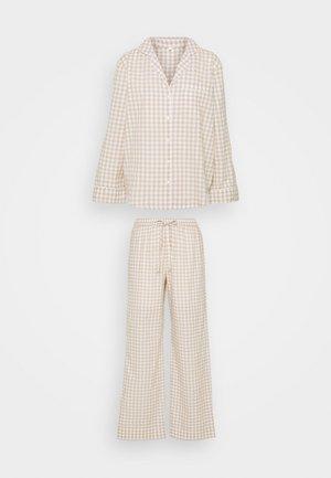 ONLELLIE NIGHTWEAR - Pyjamas - hummus