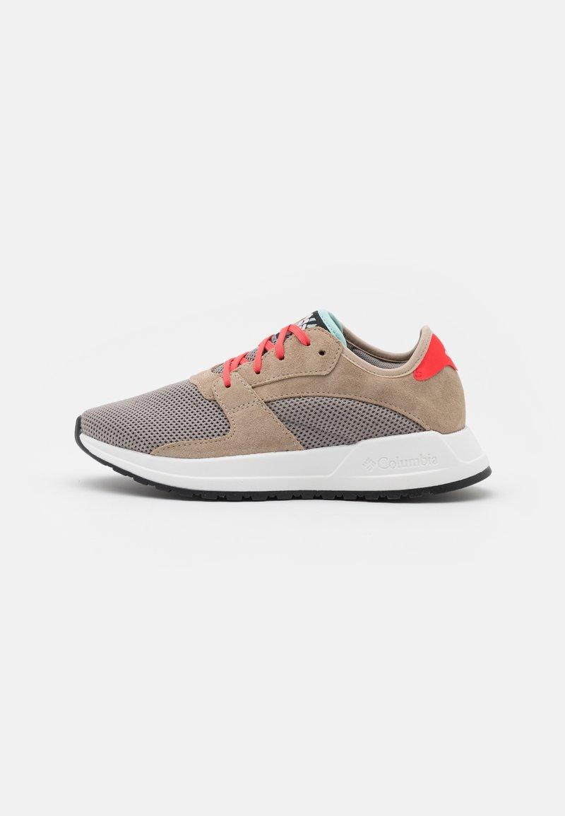 Columbia - WILDONE GENERATION - Hiking shoes - ti titanium/red coral