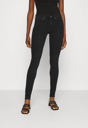 ONLSHAPE LIFE REG SKINNY - Jeans Skinny Fit - black