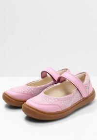 Clarks - FLASH STRIDE  - Ankle strap ballet pumps - dusky pink - 2