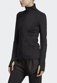 adidas by Stella McCartney - ESSENTIALS MID-LAYER TRACK TOP - Trainingsvest - black - 3