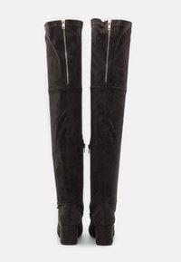 Anna Field - Over-the-knee boots - dark grey - 3
