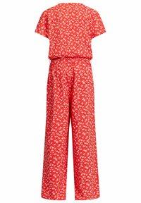 WE Fashion - MET STIPPENDESSIN - Haalari - bright red - 3
