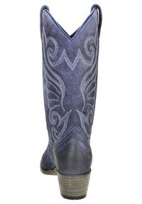 Sendra - Cowboy-/Bikerlaarzen - blauw - 2