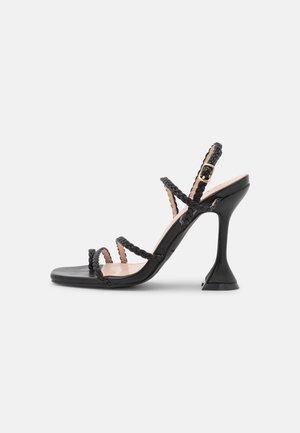 JAYA - High heeled sandals - black