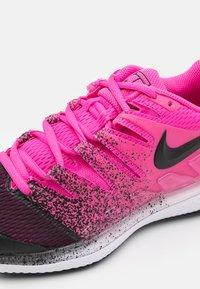 Nike Performance - NIKECOURT AIR ZOOM VAPOR X - Multicourt tennis shoes - laser fuchsia/black/white - 5
