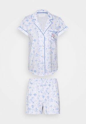 SHORT SLEEVES MASCULINE - Pyjamas - blue