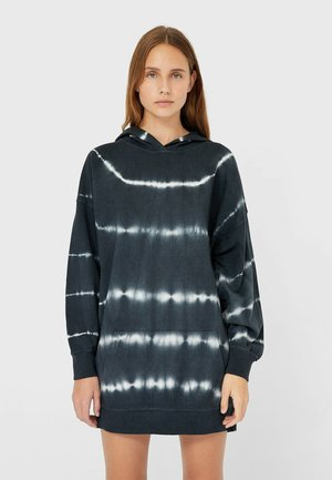 MIT TIE-DYE-PRINT  - Day dress - grey