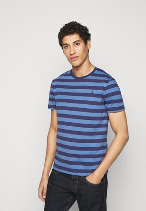 T-shirt z nadrukiem - boathouse navy/french blue