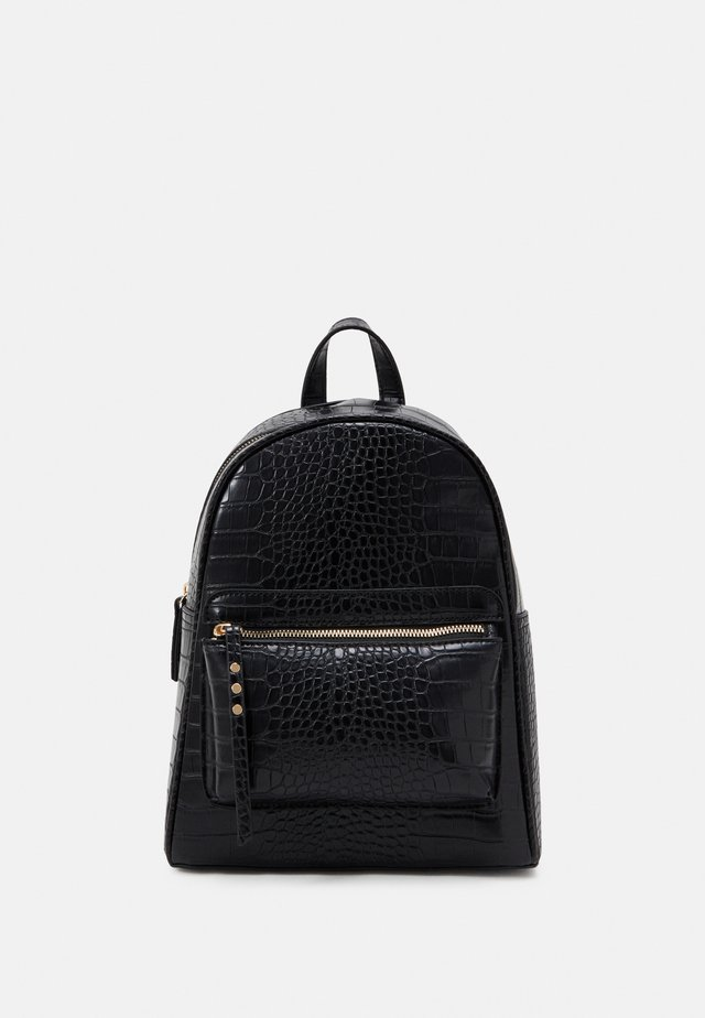 ALFIE CROC BACKPACK - Reppu - black