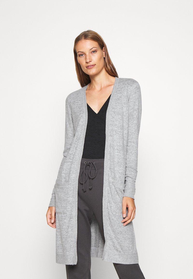Abercrombie & Fitch - COZY - Cardigan - grey