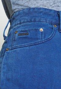 G-Star - 3301 HIGH MINI  RIPPED - Jupe en jean - deep true blue - 3