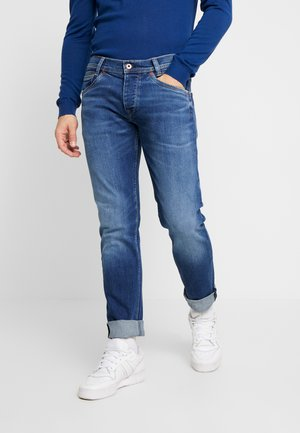 SPIKE - Jeansy Straight Leg - dark used