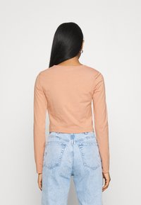 Even&Odd - Long sleeved top - camel - 2