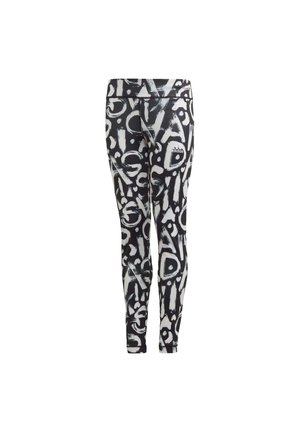 EQUIP AEROREADY PRINTED LEGGINGS - Leggings - black