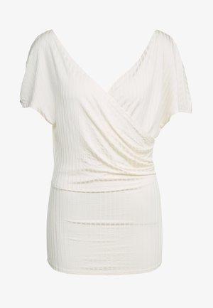NIMES - T-shirt con stampa - soft white