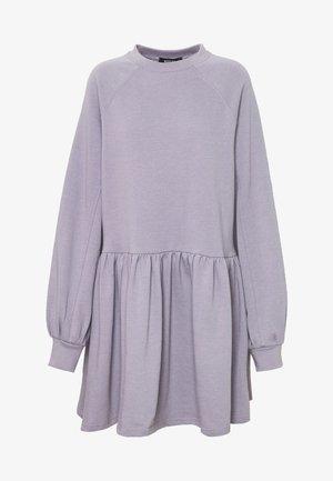 OVERSIZED SMOCK DRESS - Day dress - lilac