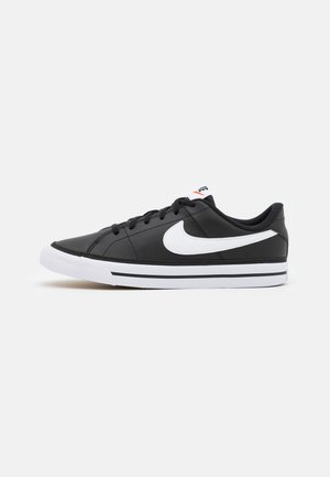 COURT LEGACY  - Sneakers basse - black/white/light brown