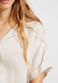 Weekday - GEMMA - Blouse - light grey/beige - 5