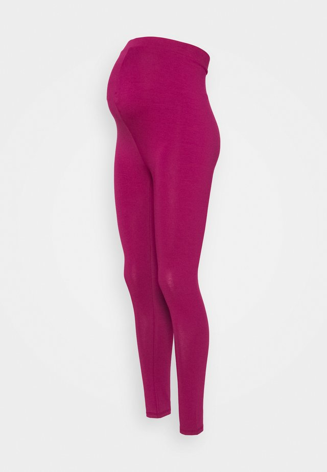 MATERNITY - Leggings - raspberry