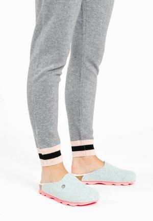 MALAKI - Slippers - clear azure