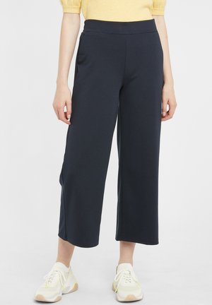 KATE WIDE - Trousers - total eclipse