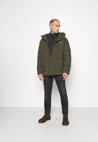 Calvin Klein Jeans - ECO JACKET - Winter jacket - deep depths - 1