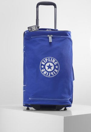 DISTANCE S - Wheeled suitcase - laser blue