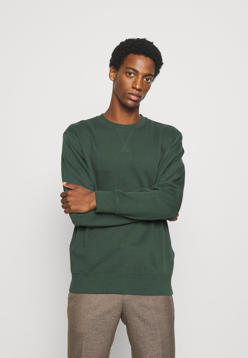 Selected Homme - SLHJASON CREW NECK - Collegepaita - sycamore