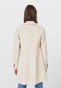 Stradivarius - Short coat - white - 2