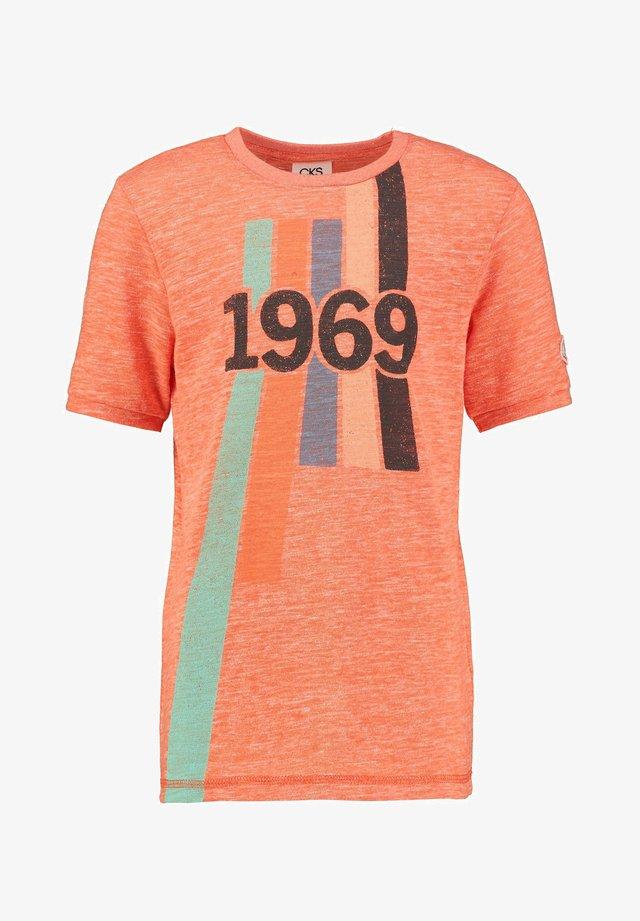YVES - T-shirt print - bold orange