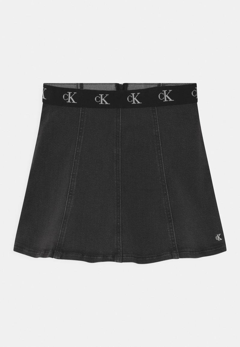 Calvin Klein Jeans - FLARE INFINITE  - Mini skirt - grey