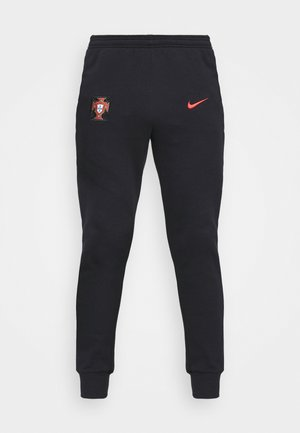 PORTUGAL FPF PANT - National team wear - black/sport red