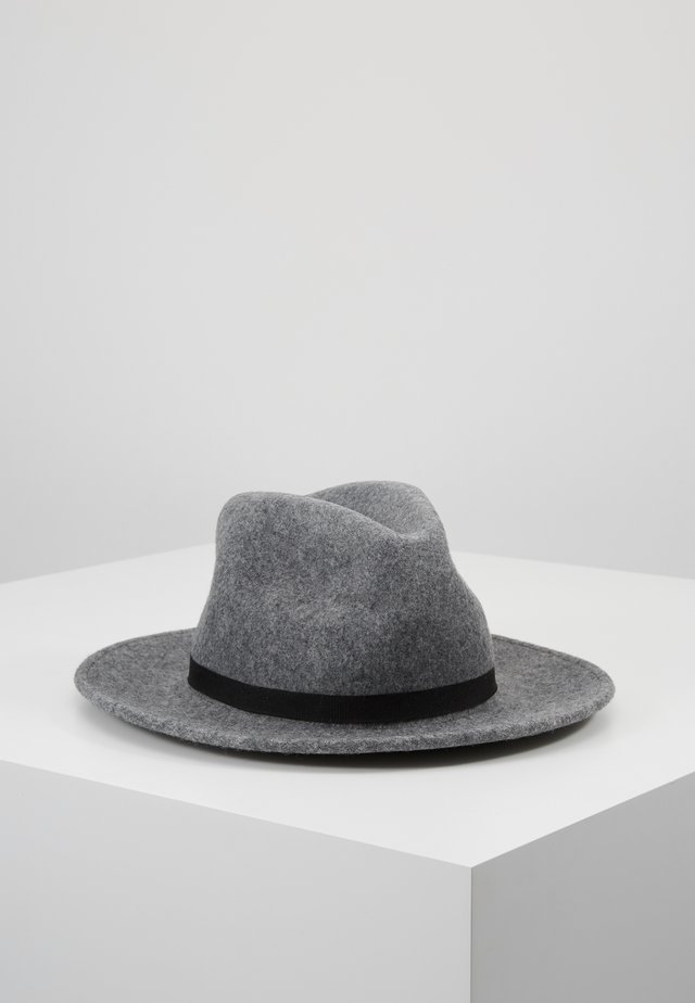 WOMEN HAT FEDORA - Sombrero - grey