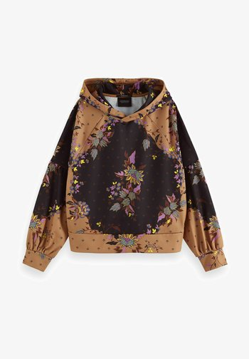 ALL OVER PRINTED STATEMENT - Hoodie - combo m