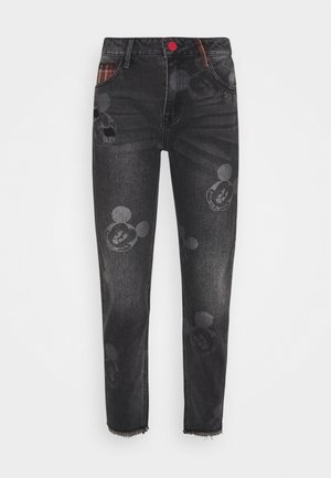 MERY MICKEY - Vaqueros boyfriend - denim black