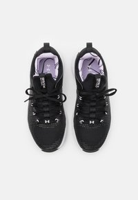 Under Armour - HOVR RISE 2 LUX - Sports shoes - black/white - 3