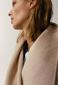 Massimo Dutti - Classic coat - beige - 3