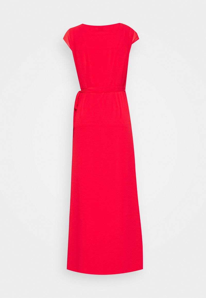 pamela reif x na-kd overlapped dress - maxikleid - red