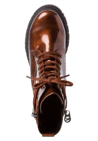 Marco Tozzi - BY GUIDO MARIA KRETSCHMER - Platform ankle boots - bronce patent - 2