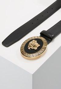 Versace - BELT VITELLO   - Cinturón - nero - 2